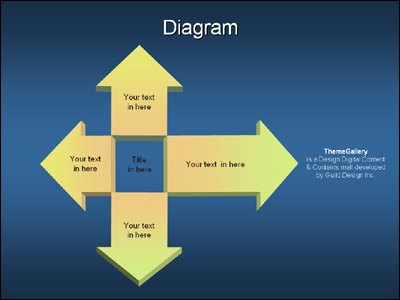 TG_diagram_197 �Ŀ�����Ʈ PPT ���ø� ������