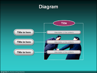 TG_diagram_248 �Ŀ�����Ʈ PPT ���ø� ������