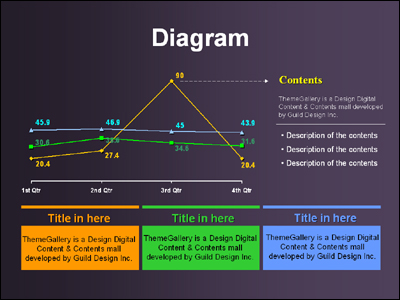 TG_diagram_380 �Ŀ�����Ʈ PPT ���ø� ������