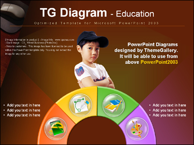 oriental magnifyinggl PPT 템플릿 TG_Diagram_599